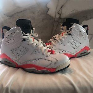 Air Jordan 6 White Infrared
